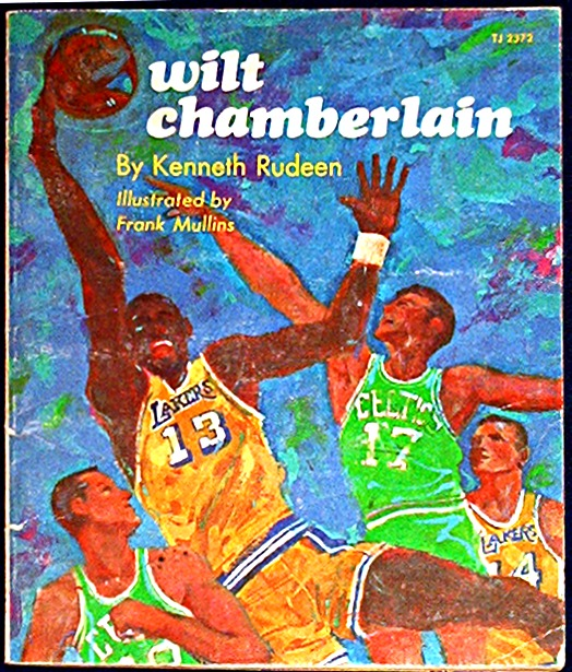 Wilt Chamberlain by Kenneth Rudeen TJ2372